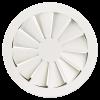Grila ACP VS lamele fixe dispuse radial